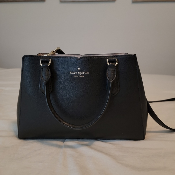 Kate Spade tippy small compartmental satchel